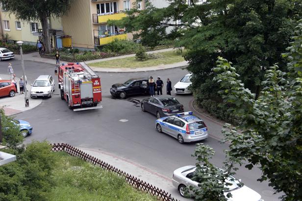 Zderzenie dwóch aut. 12-latka w szpitalu  - Zdjęcie główne