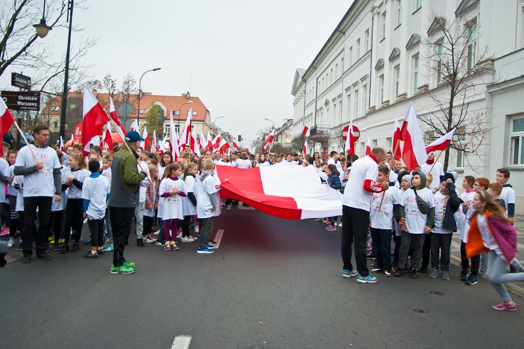XII Bieg Niepodległości - Zdjęcie główne