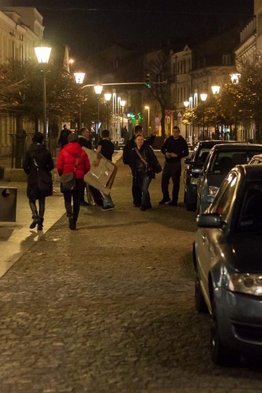 Ewakuacja mieszkańców z oficyny w centrum - Zdjęcie główne