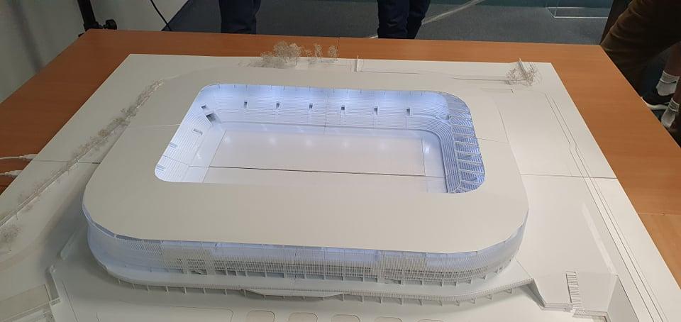 Pokazano makietę stadionu Wisły. Prace postępują, ale są też pewne trudności  - Zdjęcie główne