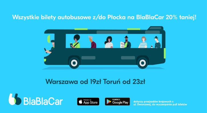 Jak tanio i wygodnie dojechać z Płocka do Warszawy lub Torunia? - Zdjęcie główne