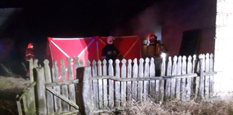 Tragedia w podpłockiej miejscowości. Mężczyzna zginął w pożarze  - Zdjęcie główne