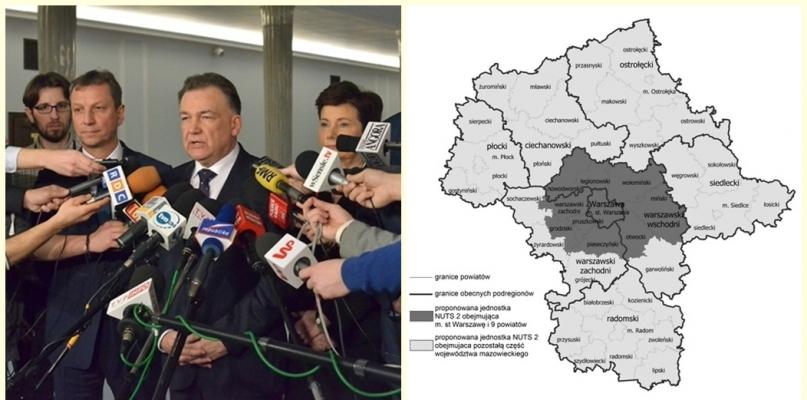 Podział Mazowsza jest już niemal pewny - Zdjęcie główne