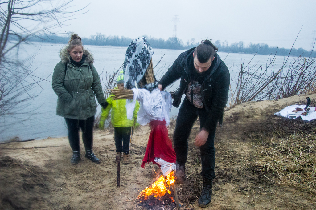 Spalili marzannę, przywitali wiosnę - Zdjęcie główne