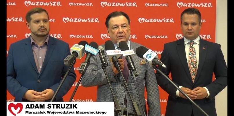 Adam Struzik o podziale Mazowsza: to jakaś aberracja polityczna!  - Zdjęcie główne