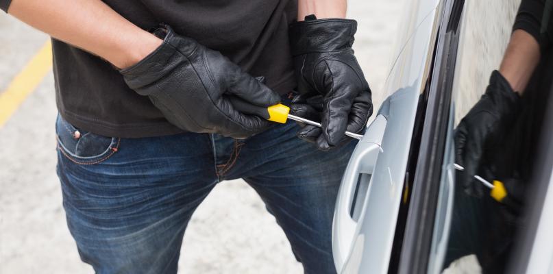 Kradzież auta w podpłockiej miejscowości  - Zdjęcie główne