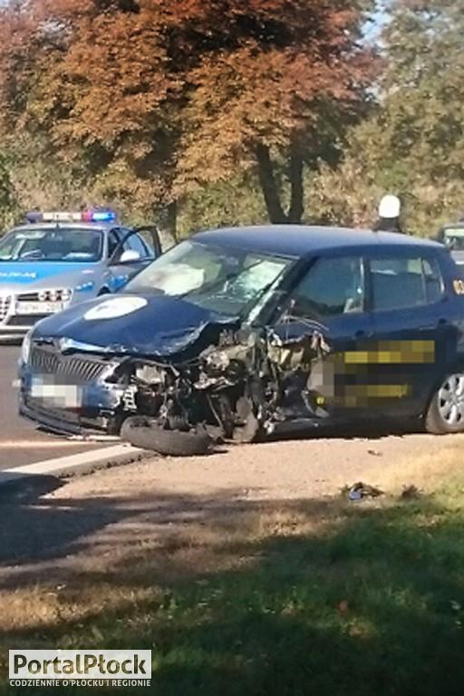 Wypadek na drodze krajowej nr 62 - Zdjęcie główne
