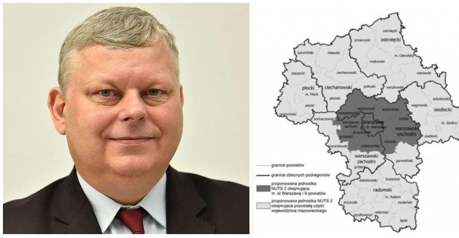 Nowe Mazowsze z miastem wojewódzkim w Radomiu. Płock bez szans na stolicę?  - Zdjęcie główne