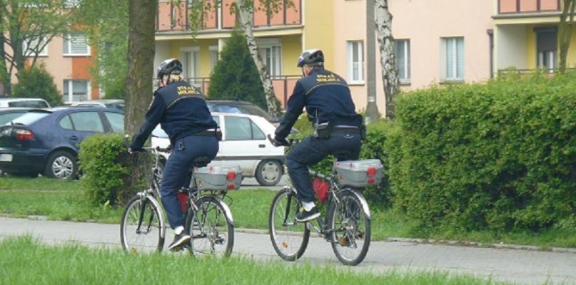 Straż Miejska rusza w teren na rowerach - Zdjęcie główne