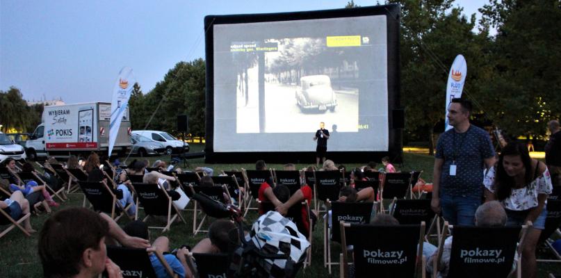 II pokaz plenerowy projektu Filmowy Płock 2 - Zdjęcie główne