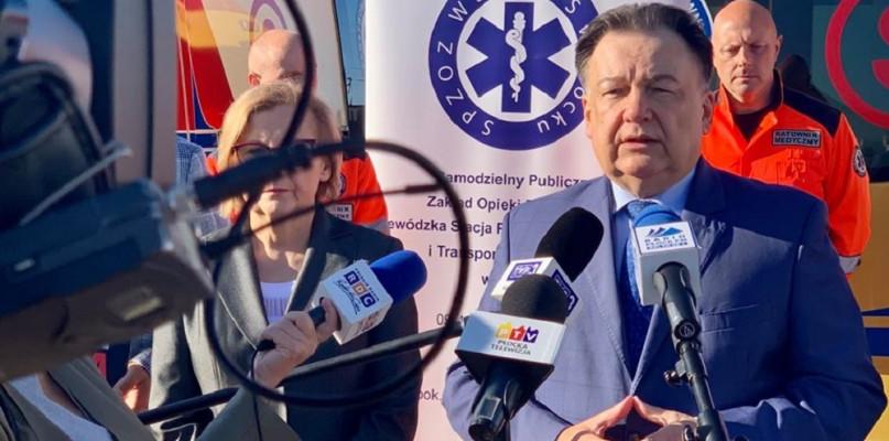 Marszałek o sytuacji ratowników medycznych: Musi dojść do tragedii by rząd zauważył problem - Zdjęcie główne