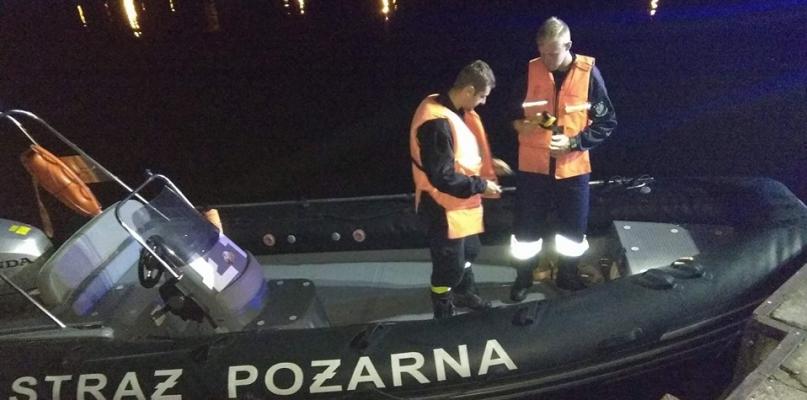 Pijany mężczyzna wypłynął łodzią na drugi brzeg Wisły   - Zdjęcie główne