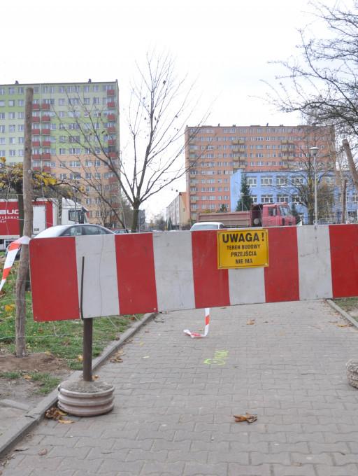 Teren budowy przy Kossobudzkiego - Zdjęcie główne