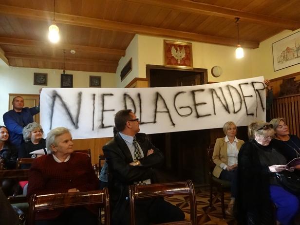 Narodowcy przerwali wykład o gender - Zdjęcie główne