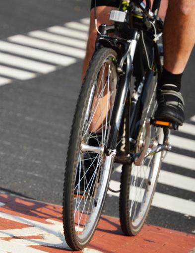 Pijany rowerzysta przyuważony przez policjantkę po służbie - Zdjęcie główne