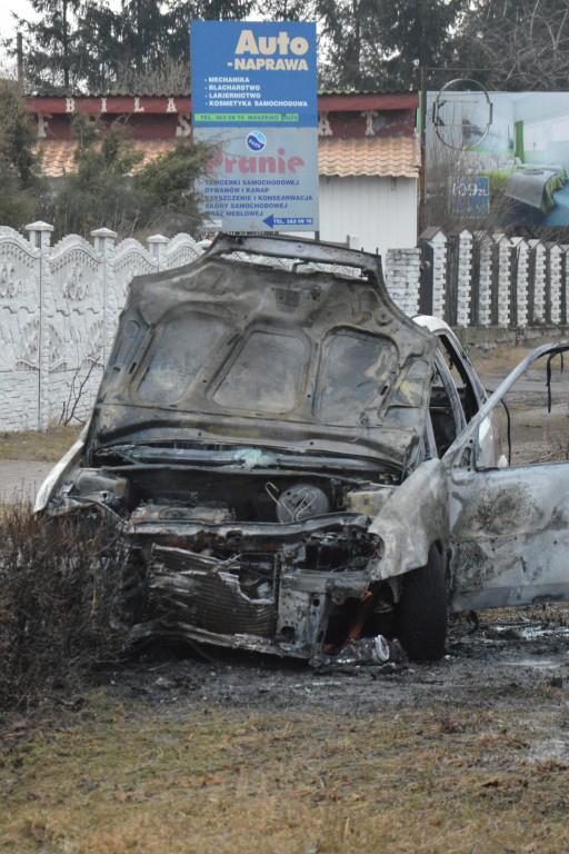 Z ostatniej chwili: Auto płonęło w trakcie jazdy - Zdjęcie główne
