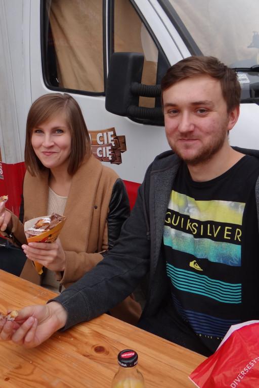 Food Trucki pod galerią Wisła - Zdjęcie główne