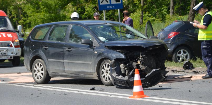 Wypadek w Słupnie. Zablokowana droga z Warszawy [FOTO] - Zdjęcie główne