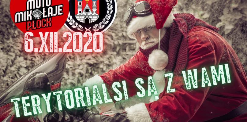 Terytorialsi wspierają akcję płockich Moto Mikołajów - Zdjęcie główne
