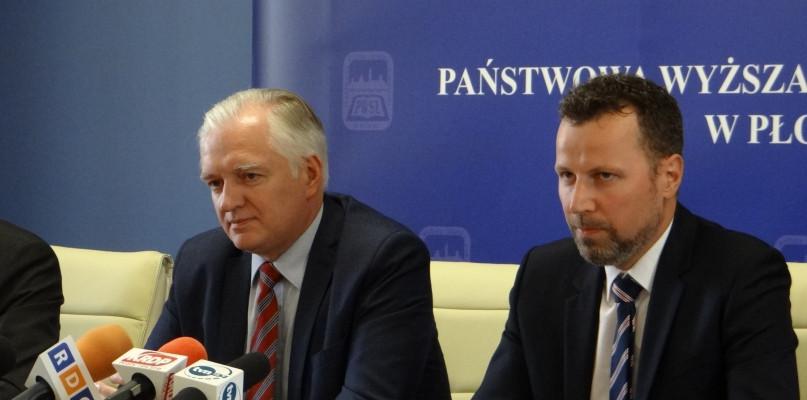 W piątek przyjedzie do Płocka wicepremier Jarosław Gowin - Zdjęcie główne