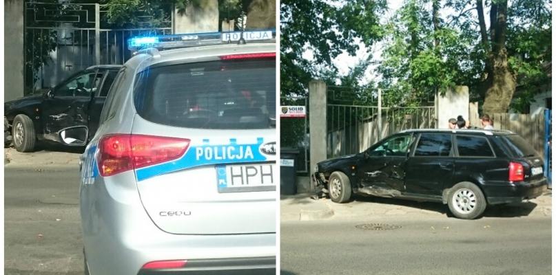 Zderzenie dwóch aut w centrum miasta. Wiadomo, z czyjej winy do niego doszło - Zdjęcie główne