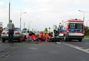 Trzy wypadki. Ofiara śmiertelna i ranni - Zdjęcie główne