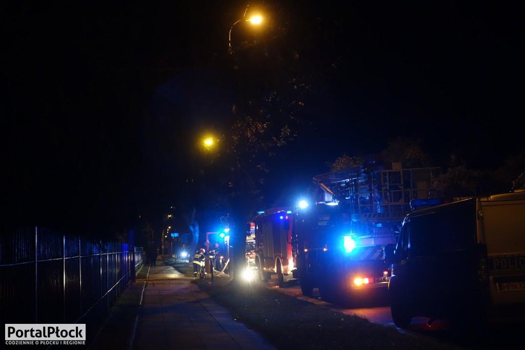 Pożar w internacie - Zdjęcie główne