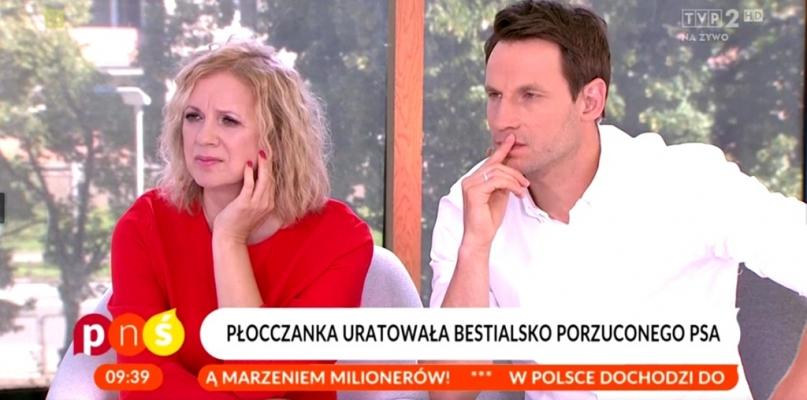 Płocczanka w TVP opowiadała, jak uratowała porzuconego psa - Zdjęcie główne
