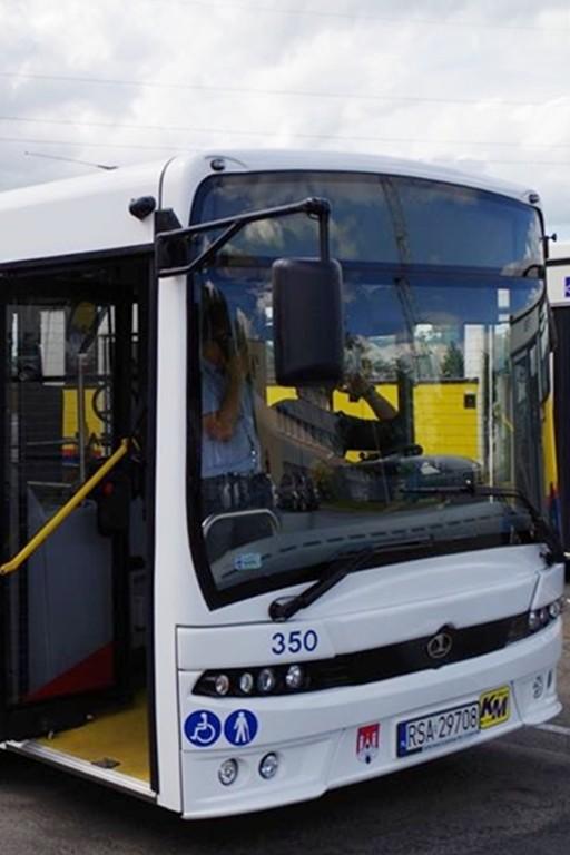 Nowy autobus na testach - Zdjęcie główne