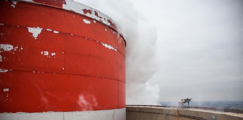 Z wizytą w Orlenie na samej górze 160-metrowego komina - Zdjęcie główne