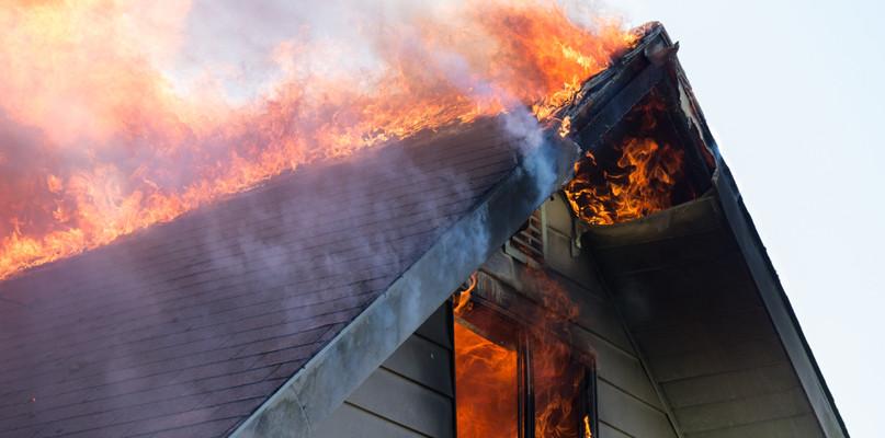Pożar strawił miejsce, które nazywali domem. Trwa odbudowa  - Zdjęcie główne