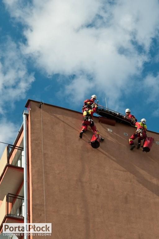 Strażacy w pozorowanej akcji - Zdjęcie główne