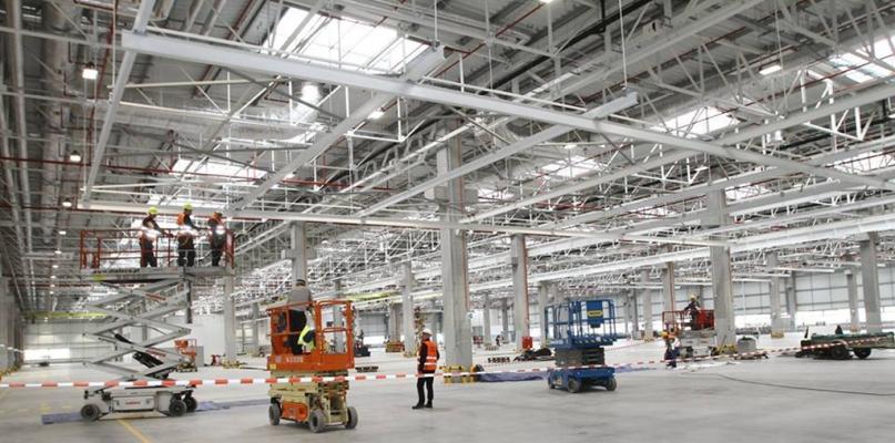 Nowa hala produkcyjna CNH Industrial Polska już gotowa [FOTO] - Zdjęcie główne