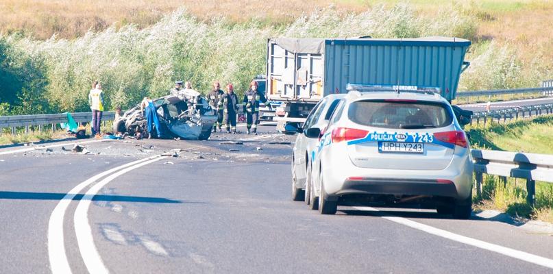 Śmiertelny wypadek na Trasie Popiełuszki. Jedna osoba nie żyje - Zdjęcie główne