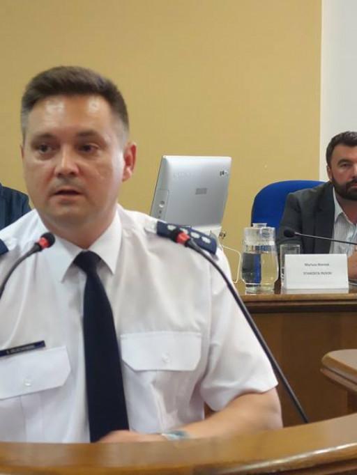 Rozmawiali o bezpieczeństwie - debata powiatowa - Zdjęcie główne