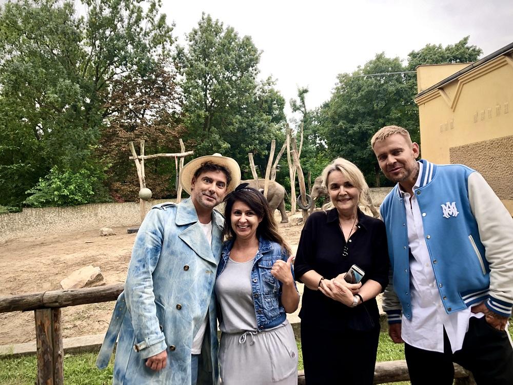 Gwiazdy Top Model w Płocku. Odwiedzili m.in. płockie ZOO [ZDJĘCIA] - Zdjęcie główne