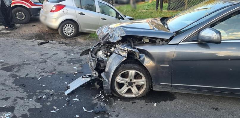 Wypadek pod Płockiem. Trzy osoby w szpitalu - Zdjęcie główne