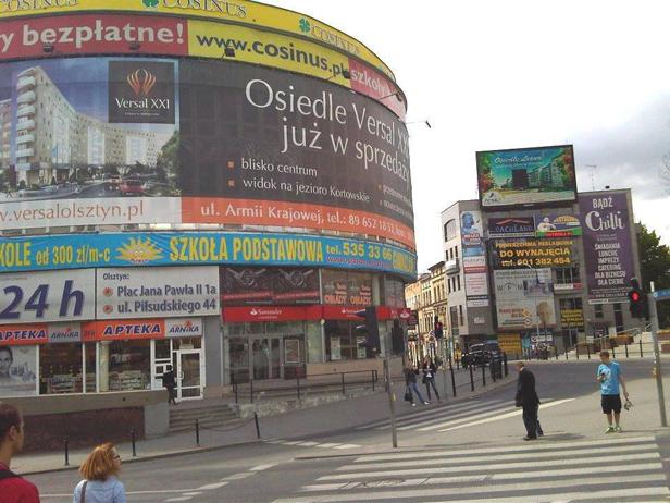 Najbrzydsze reklamy w Polsce. Jest i Płock… - Zdjęcie główne
