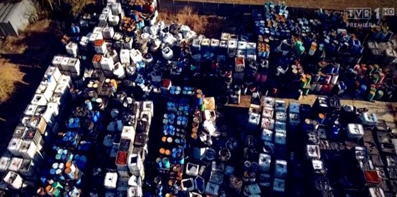 Składowisko odpadów na tapecie. Sprawą zajęła się telewizja - Zdjęcie główne