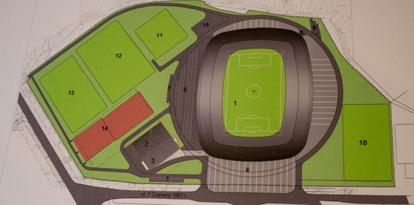 Wiceprezes Wisły: Przedstawiono nam wstępną wizję nowego stadionu - Zdjęcie główne