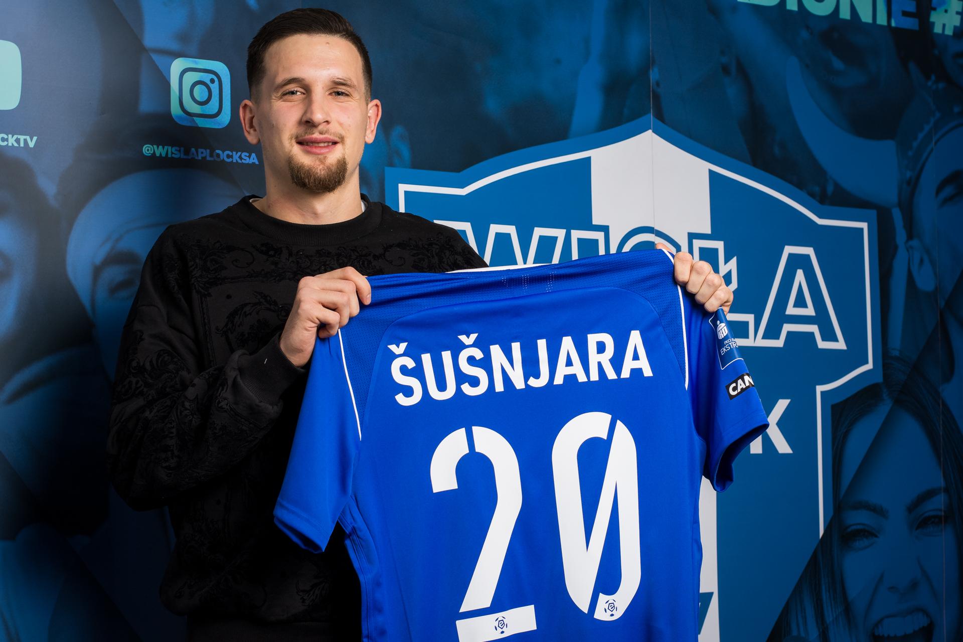 Wisła wzmacnia rywalizację w ofensywie. Luka Šušnjara podpisał kontrakt  - Zdjęcie główne