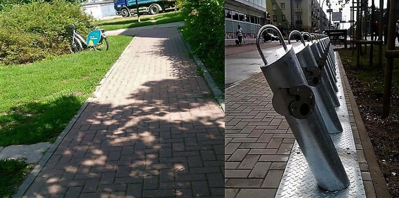 Rower miejski porzucony w krzakach...Dbamy czy nie? - Zdjęcie główne