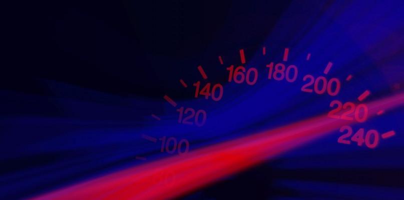Przekroczył dopuszczalną prędkość. Stracił prawo jazdy - Zdjęcie główne