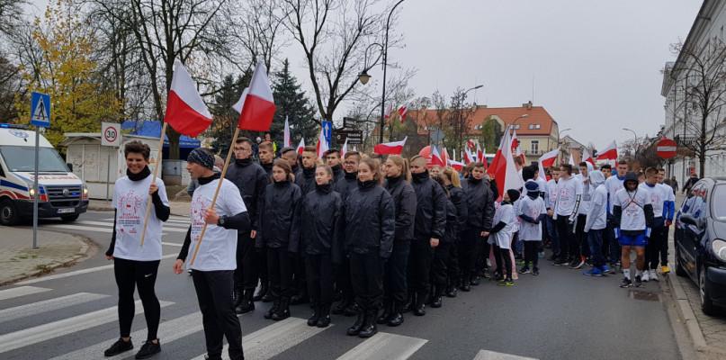 Bieg Niepodległości. Pobiegli z biało-czerwoną [FOTO, FILM] - Zdjęcie główne