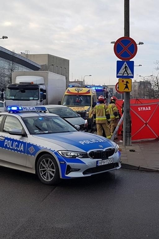 Śmiertelny wypadek na Podolszycach - Zdjęcie główne