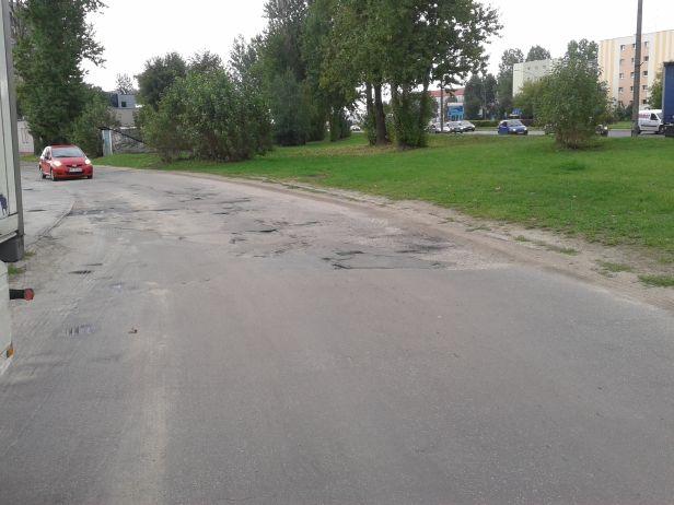 Koszmarna droga przy Coteksie. Czyja wina? - Zdjęcie główne