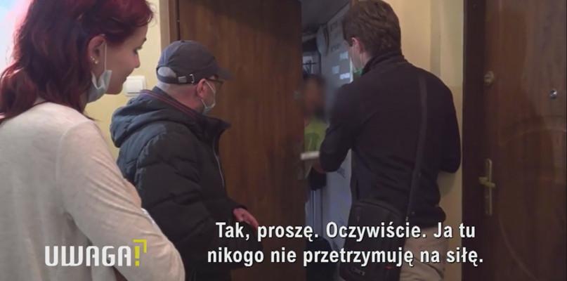 """Płock w programie """"UWAGA!"""". Kobieta uciekła tu z Koszalina z córką - Zdjęcie główne"""