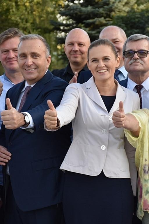 Liderzy zjednoczonej opozycji w Płocku - Zdjęcie główne