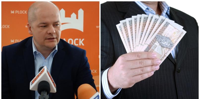 Prezydent Płocka: Czas na wyższe pensje - Zdjęcie główne