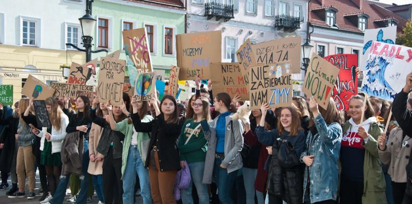 Młodzież znów zaprotestuje przeciw zmianom klimatu - Zdjęcie główne